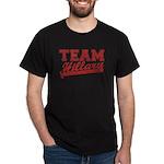 Team Hillary Red Dark T-Shirt