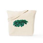 Blue Hosta Tote Bag