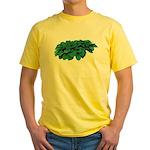 Blue Hosta Yellow T-Shirt