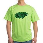 Blue Hosta Green T-Shirt