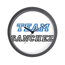 Team Sanchez Wall Clock
