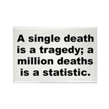 Cute Stalin quotation Rectangle Magnet