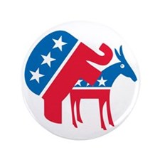 "Anti-Democrat 3.5"" Button (100 pack)"