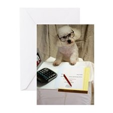 I Love My Bichon Frise Greeting Cards (Pk of 20)