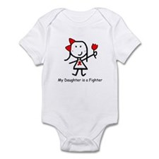 Red Ribbon - Daughter Infant Bodysuit