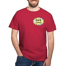 GPS Junkie Pocket Image T-Shirt