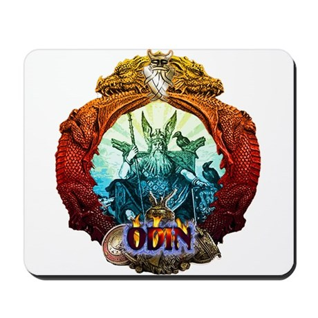 Odin Norse God Mousepad