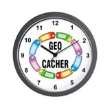 GPS Oval Wall Clock