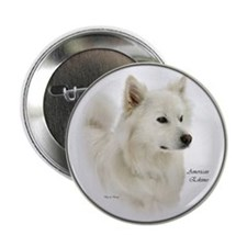 "American Eskimo Dog 2.25"" Button (10 pack)"
