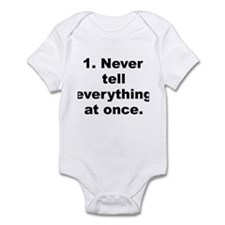Quotable quotes Infant Bodysuit