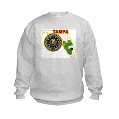 Tampa FBI Kids Sweatshirt
