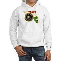 Tampa FBI Hooded Sweatshirt