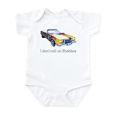 I don't roll on Shabbos Infant Bodysuit