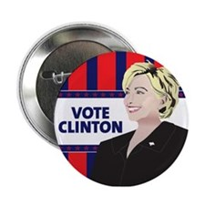 "Hillary Clinton 2.25"" Button"