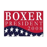 Boxer for President 2008 (11x17 poster)