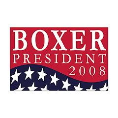 Boxer for President 2008 (11x17 poster)