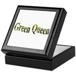 Green Queen Keepsake Box