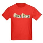 Green Queen Kids Dark T-Shirt