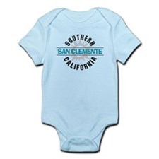 San Clemente California Infant Bodysuit