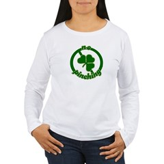 No Pinching Women's Long Sleeve T-Shirt