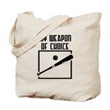 Baseball - WeaponOfChoice Tote Bag
