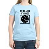 Basketball - WeaponOfChoice T-Shirt