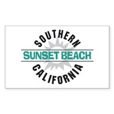 Sunset Beach California Decal