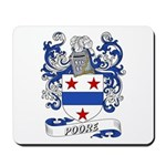 Poore Coat of Arms Mousepad