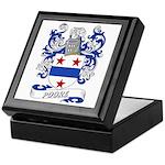 Poore Coat of Arms Keepsake Box