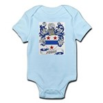 Poore Coat of Arms Infant Creeper