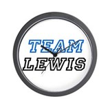 Team Lewis Wall Clock