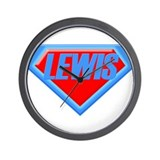 Super Lewis Wall Clock