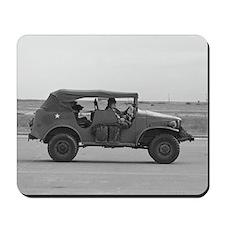 WWII Staff Car Mousepad