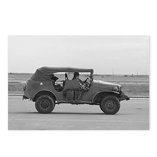 WWII Staff Car Postcards (Package of 8)