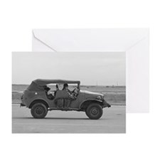 WWII Staff Car Greeting Cards (Pk of 10)