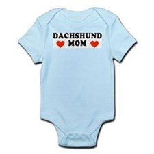 Dachshund Mom Infant Creeper