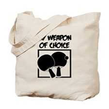 PingPong - WeaponOfChoice Tote Bag