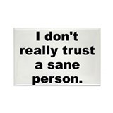 Don't trust Rectangle Magnet (100 pack)