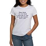 The Gospel Women's T-Shirt