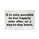 Cool Lived happily ever after Rectangle Magnet (10 pack)