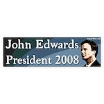 John Edwards President 2008 Bumpersticker