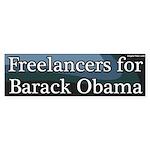 Freelancers for Barack Obama Bumper Sticker