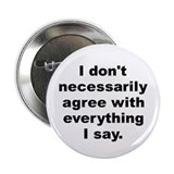 "Mcluhan quote 2.25"" Button (100 pack)"