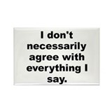 Mcluhan quote Rectangle Magnet (10 pack)