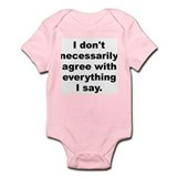 Mcluhan quote Infant Bodysuit