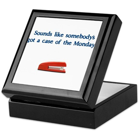 Case of the Monday's Keepsake Box