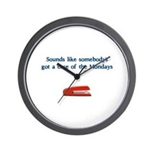 Case of the Monday's Wall Clock