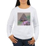 Great Purple Hairstreak Women's Long Sleeve T-Shir