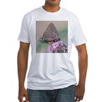 Great Purple Hairstreak Fitted T-Shirt