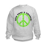 Peas a Chance (Distressed) Sweatshirt
